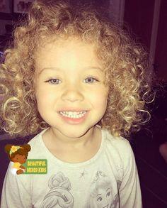 Halle-Rose Reid - 3 Years • British & Jamaican ♥️ FOLLOW @BEAUTIFULMIXEDKIDS http://instagram.com/beautifulmixedkids