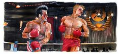 Rocky IV  I Must Break You 5x11 Poster Print by Jimbeanus on Etsy, $10.00