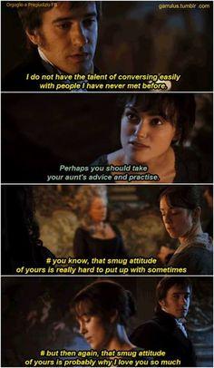 Darcy's Inner Struggles.