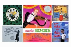 Music picture books. Repinned by SOS Inc. Resources.  Follow all our boards at http://pinterest.com/sostherapy  for therapy resources.