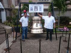 Campana para la catedral de Tabasco México