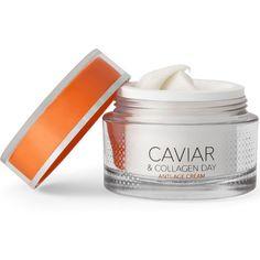 En næringsrik dagkrem som hjelper huden å fornye seg selv. Perfekt til alle hudtyper, og spesielt tørr hud! - Tilfører aminosyrer og fuktighet - Reduserer linjer i huden - Gir huden mer elastisitet og glød - Demper pigmentflekker Collagen, Cream, Caviar, Creme Caramel, Collages
