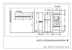 Vista Cozinha/Lavanderia 2