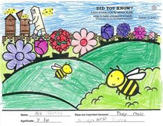 "Have you entered our Bayer #BeeCareColoring Contest? Learn more and view entries in the ""Color Me Bee-autifully"" Flickr album!"