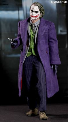 Batman - The Dark Knight: Joker 2.0 - Deluxe Figur, Fertig-Modell, http://spaceart.de/produkte/bm010.php