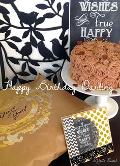 Rosentorte, Torte mit Buttercreme Rosen dekoriert Geburtstagstorte für meinen Mann !