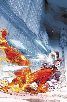 The Flash Volume Rogues Reloaded By Joshua Williamson, Carmine Di Giandomenico (Artist) I received a free copy of The Flash Volume Rogues Reloaded from DC Comics in exchange for my honest opi… Flash Comics, Dc Comics Heroes, Dc Comics Characters, Dc Comics Art, Flash Characters, Flash Barry Allen, Comic Sans, Flash Art, The Flash