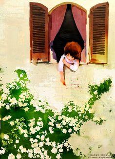La Imaginación Dibujada: ilustracion infantil. Hanoul