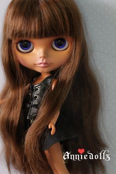 Flickr: custom blythe doll by Annie Dollz