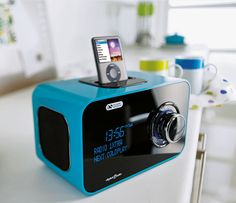 Acoustic Solutions DAB digital radio and speaker dock from Argos is a fantastic aqua colour and made to look super sleek in a high gloss finish. Aqua Color, Colour, Student Bedroom, Digital Radio, Coldplay, Argos, High Gloss, Acoustic, It Is Finished