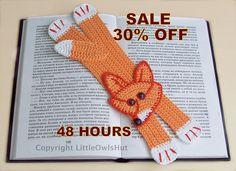Ravelry: Fox Bookmark pattern by Little Owls Hut