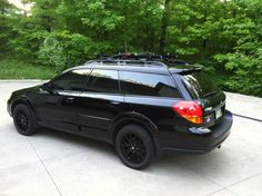 Blacked Out Subaru Outback