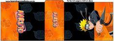 Naruto: Etiquetas para Candy Bar para Imprimir Gratis. Naruto Party Ideas, Party Printables, Free Printables, Naruto Free, Naruto Birthday, Table Labels, 10th Birthday Parties, Birthday Ideas, Oh My Fiesta