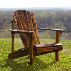 Find it at the Foundary - Northwood Adirondack Chair - Torched