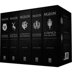 Livro - Box - As Crônicas de Gelo e Fogo [Volumes 1, 2, 3, 4 e 5]