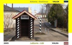 Confini amministrativi - Riigipiirid - Political borders - 国境 - 边界: 2005 EE-LV Eestimaa-Läti Estonia-Lettonia