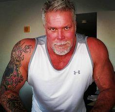Scott Hall, Kevin Nash, Good Looking Men, Wwe, Tank Man, How To Look Better, Sexy, Mens Tops, Legends