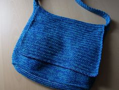 Crochet Messanger Bag found