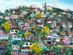 Karin Best. One of the great Trini artists. I must find a way to incorporate.