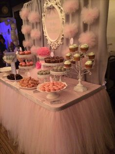 Baby Shower Dessert Table by Bizzie Bee Creations