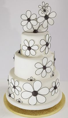 Black/White Flower Power by Alliance Bakery, via Flickr