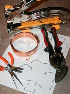 Need this tutorial in your cookie makin' world: Create Your Own Custom Copper Cookie Cutters!