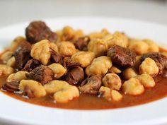 מתכון נוקידס, תבשיל בשר מהמטבח הטריפוליטאי עם בצקניות שמזכירות את הניוקי האיטלקי