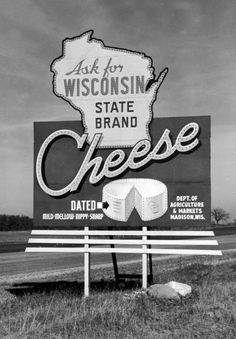 Wisconsin Cheese Billboard...  I could have been a cheesehead. I love wisconsin's history and beautiful nature!  #4