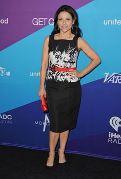 Julia Louis-Dreyfus in David Meister at the Unite4:humanity event.