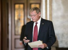 Republican Sen. Jim Inhofe is accusing the EPA of slow-walking its carbon emissions rule for new power plants to protect vulnerable Senate Democrats in the November midterm elections. | Read the full story here: http://washingtonexaminer.com/sen.-jim-inhofe-epa-slow-walking-carbon-rule-to-protect-democrats/article/2547879