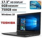 "♡♦ 2016 Newest Generation Toshiba 17.3"" Premium High Performance #Laptop PC Intel... http://ebay.to/2bjpqoh"