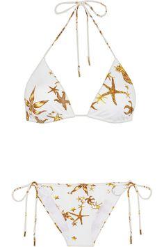 White & Gold Starfish Bikini at Net a Porter | La Beℓℓe ℳystère