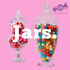 ON THE BLOG: Jars, Jars and more Jars! If your looking for some advice on jars for your candy buffet, we've got a few little tips and tricks to hopefully make it easier! #CandyBuffets #BulkCandy @BulkCandyStore
