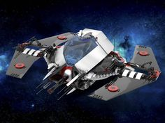 H-Wing Deep Space Interceptor Lego Spaceship, Lego Man, Lego Mecha, Concept Ships, Lego Worlds, Lego Models, Product Ideas, Cool Lego, Deep Space