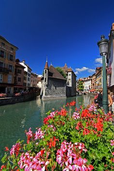 Annecy, France. I've been there and it is absolutely gorgeous!