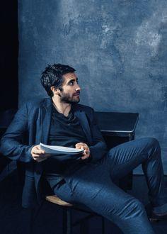 Jake Gyllenhaal - Vogue, January 2015.
