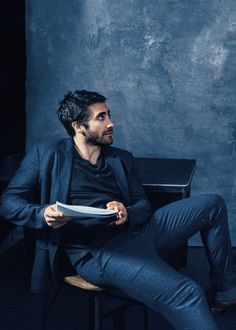 Jake Gyllenhaal - Vogue, January 2015.