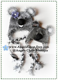 KOALA Bear Hat Boutique Design - No. 30 - $6.99 by Mary Angel Morris