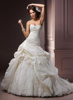Maggie Sottero dress. Not the one as of right now, but a possibility if I can't get the one I want.