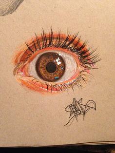 19-Year-Old Artist Creates Striking Hyperreal Drawings Of Eyes