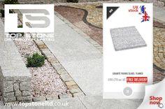 Flamed granite slabs for sale