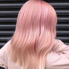 Baby Pink Hair, Pink Blonde Hair, Red Ombre Hair, Pastel Pink Hair, Hair Color Pink, Pink Hair Dye, Hair Colors, Red Hair, Candyfloss Pink Hair