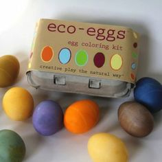 eco-eggs | Natural Easter Egg Dye by eco-kids