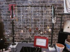 necklace display DIY for craft shows