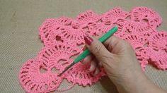Shawl de Abanicos Crochet parte 2 de 2