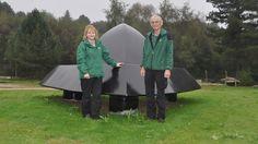 OVNI Hoje!…Escultura será coloca no local do alegado pouso de um OVNI na Floresta de Rendlesham, Reino Unido - OVNI Hoje!...