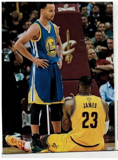 don't stand, LeBron. You don't stand a chance against me!