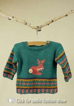Free Knitting Pattern - Toddler & Children's Clothes: Louisville Toddler Sweater