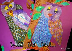 The Wise Old Owl: Poetry and Painted Paper