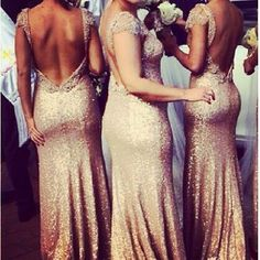 Sequin Gatsby Gown